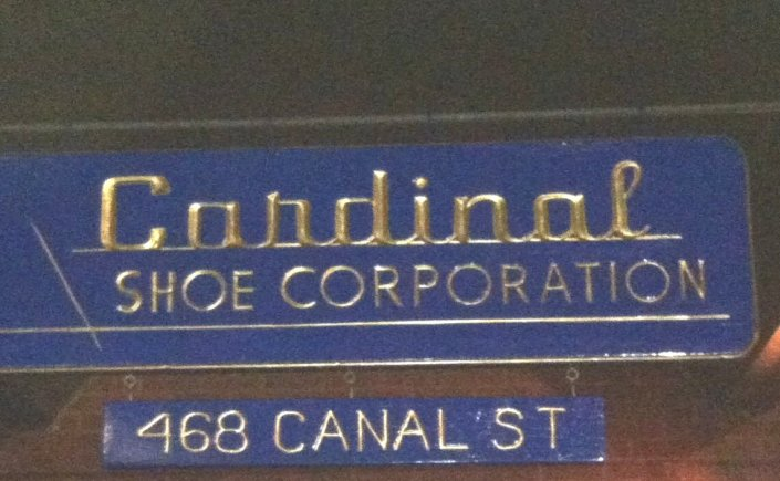 Cardinal Shoe Corporation 468 Canal Street, Lawrence, Massachusetts